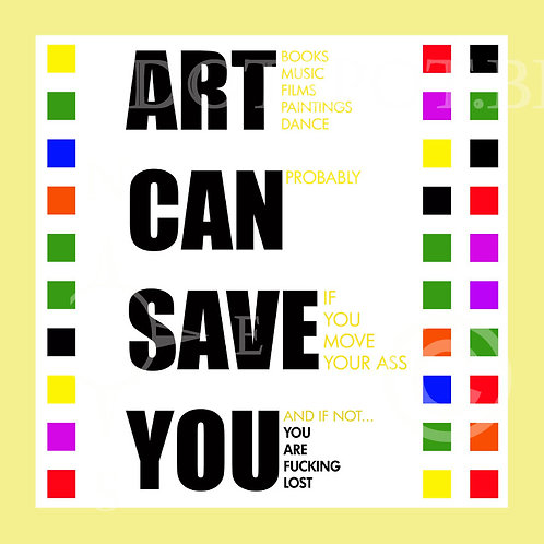 Art Can Save You Yellow