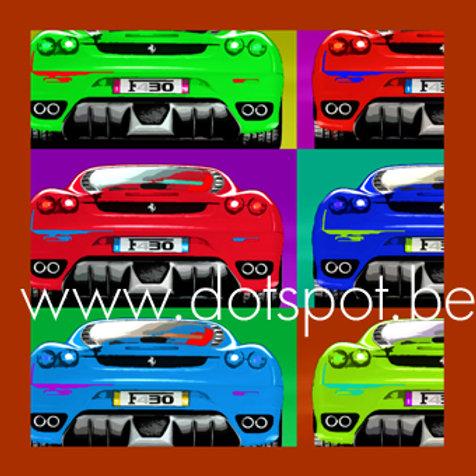 Ferrari Popart