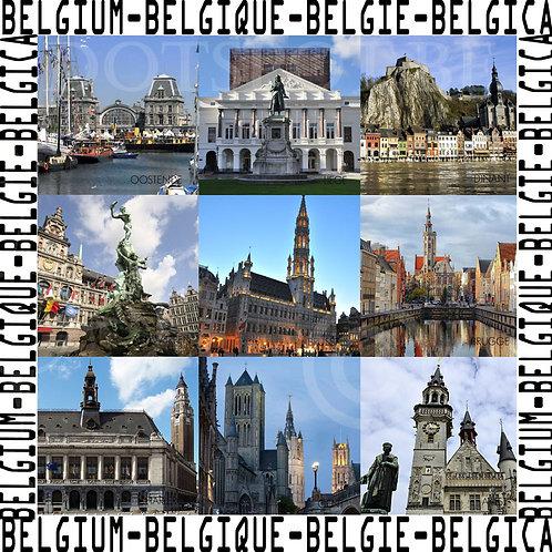 Monuments Belgique