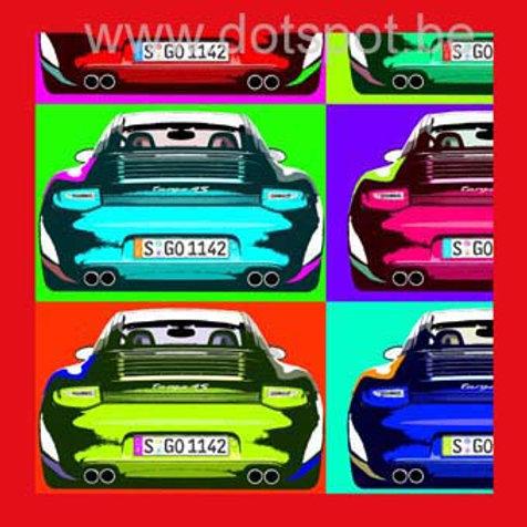 Porsche Popart
