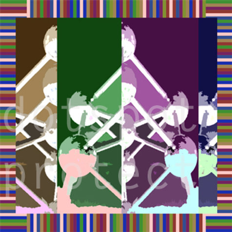 Atomium Popart