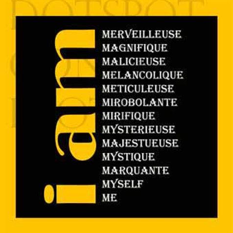 I Am Jaune