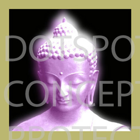 Bouddha Mauve