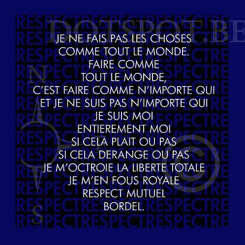Poème Bleu