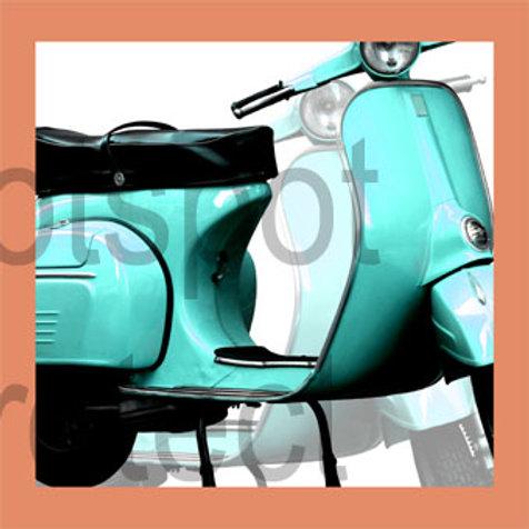Vespa Turquoise