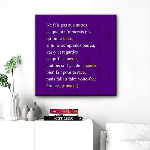 Poème Faire