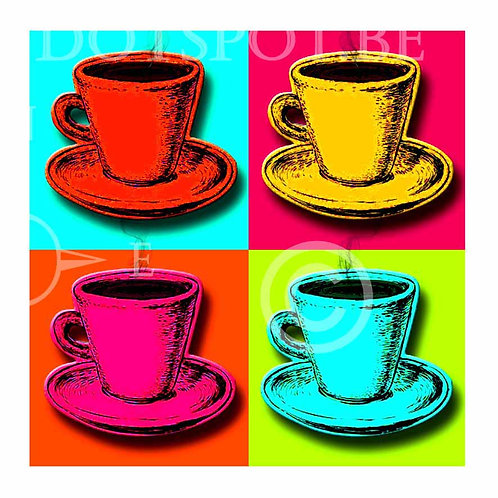 Coffee Popart