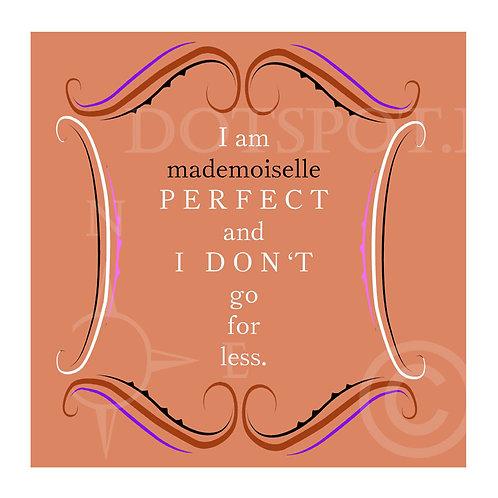 I Am Mademoiselle