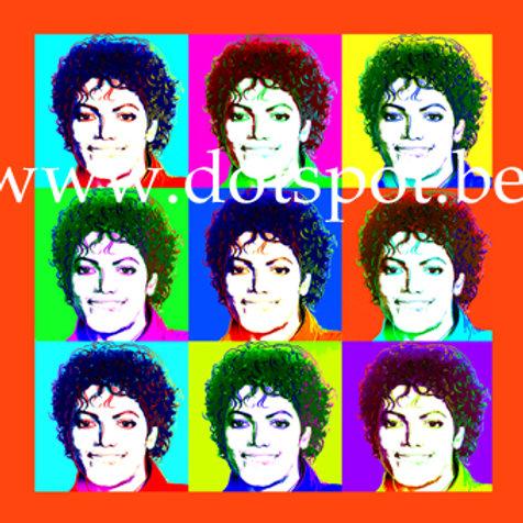 Michael Jackson Popart