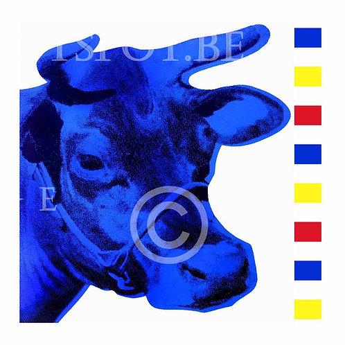 Cow blue