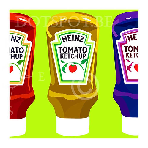 Ketchup Jaune