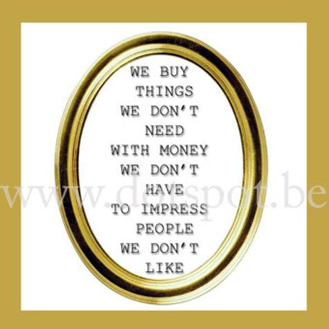 We Buy Things