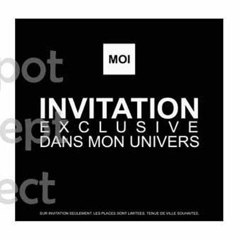 Invitation Exclusive