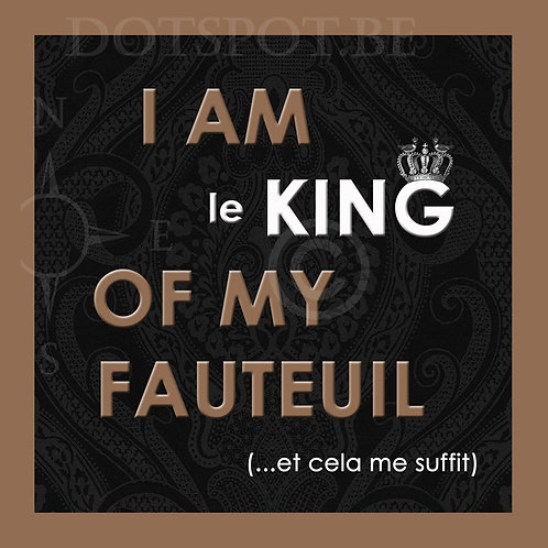 King Fauteuil