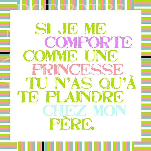 Princesse Attitude