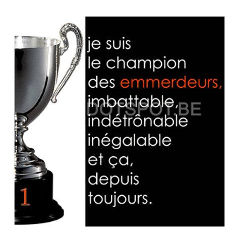 Champion Emmerdeurs