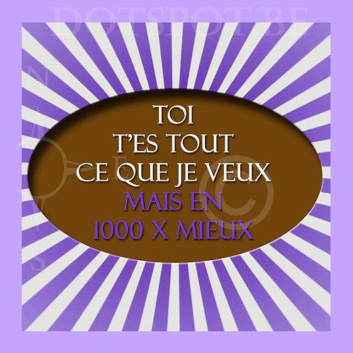 1000x Mieux