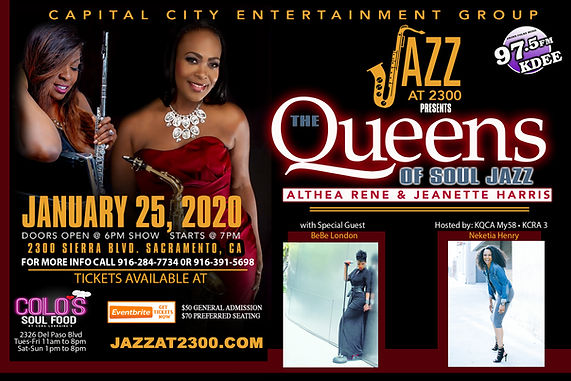 JAZZ AT 2300 -Queens of Soul Jazz 4x6 Up