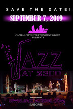 JAZZ AT 2300 - SAVE THE DATE SEPTEMBER 7
