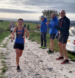 Feeling ultra upbeat on the Downs