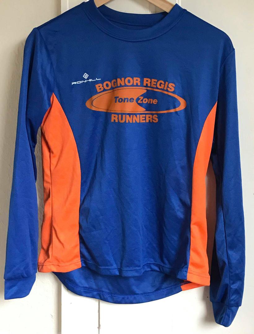 Long Sleeved Running Shirt (£20.00)