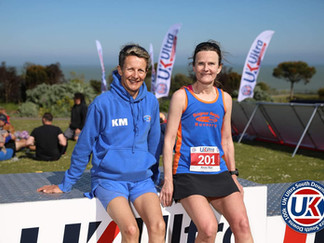 Bognor's female athletes fly the flag - and cover the miles