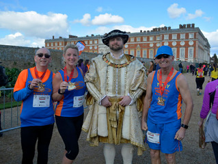 Reading, Fleet and Hampton Court