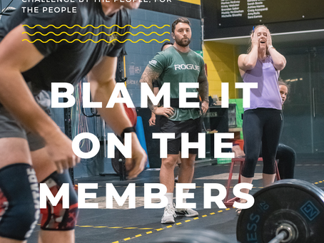 ⭐ Blame it on the members challenge 2.0 ⭐