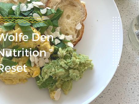 Wolfe Den Nutrition Reset