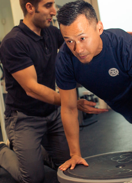 BOSU Training, muscle activation, mindfullness, mindful movement