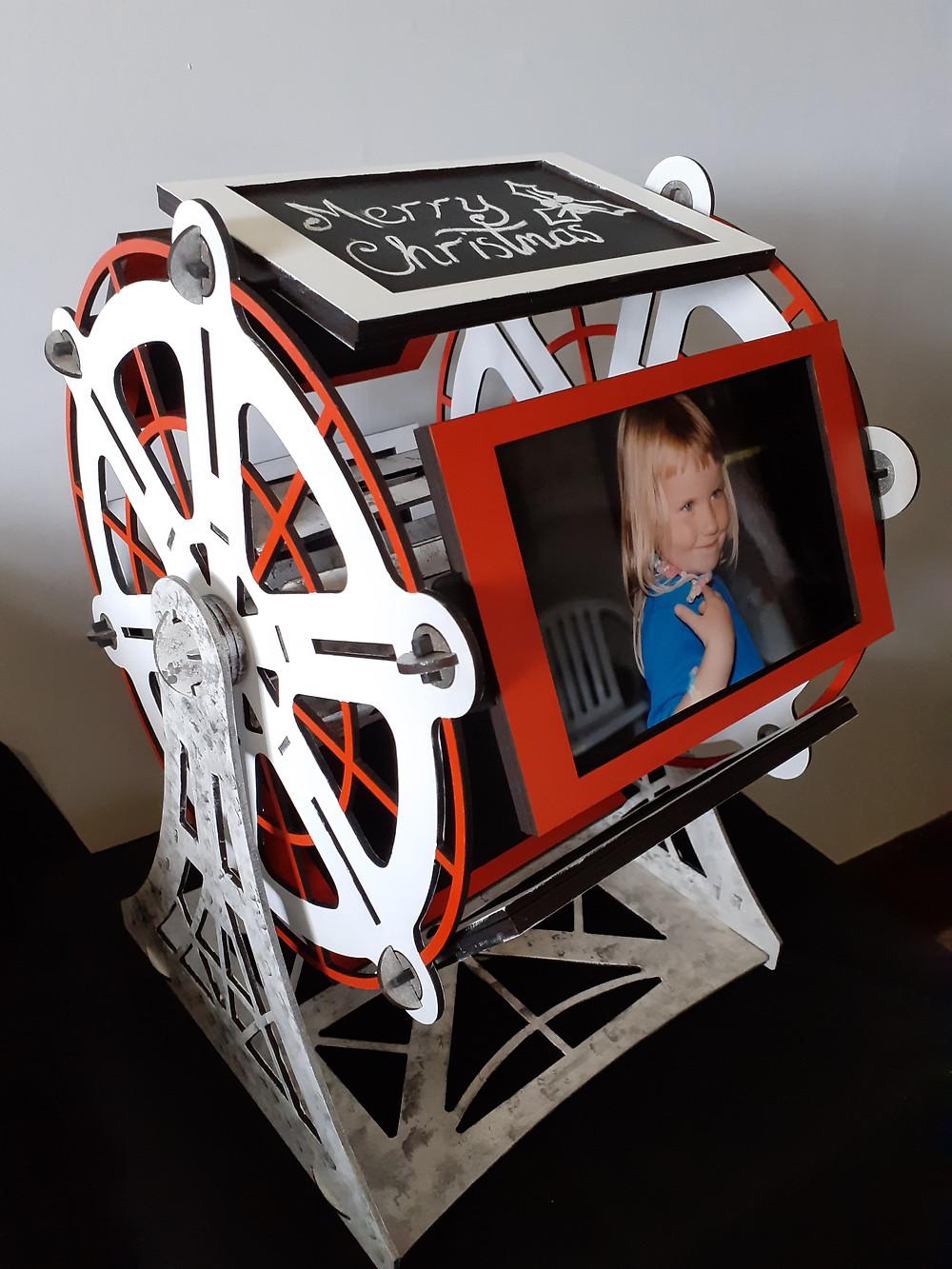Photo Wheel display stand