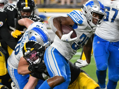Igwebuike scores TD, finds it a 'blessing' getting a shot at running back with Lions