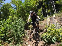 Martin Moser Steilabfahrt