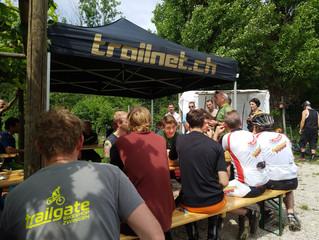 An der Arlesheim Trail Eröffnung