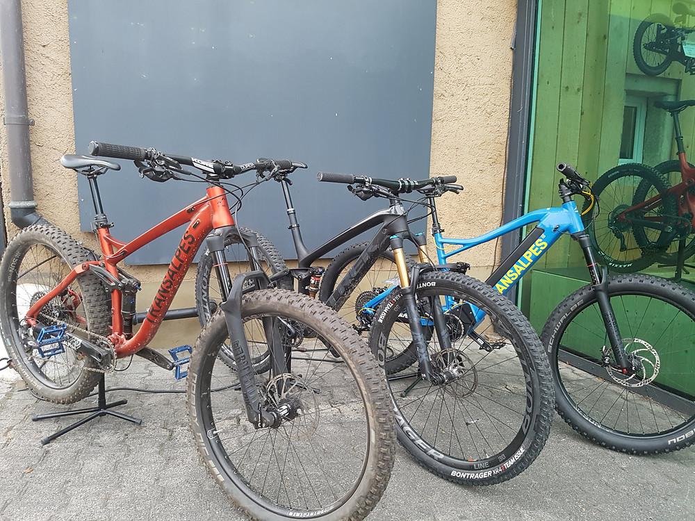 Testbike verkauf Trek, Transalpes, E bike