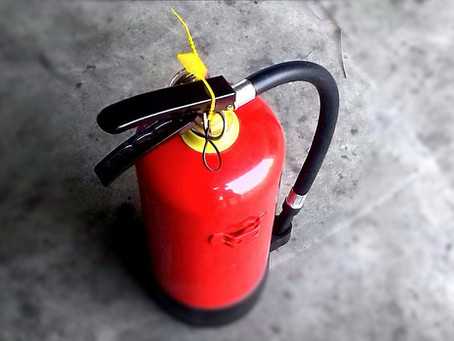 How to test a fire extinguisher