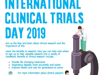 International Clinical Trials Day 2019!