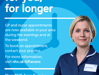 New Extended Access Appointments