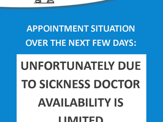 Appointment Situation at Gayton Road