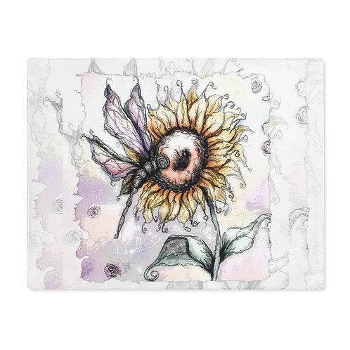Everglow Sunflower & Dragonfly Mat