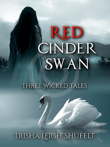 Red Cinder Swan Signed