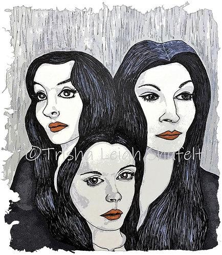 Addam's Family Women