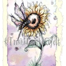 Dragonfly & Sunflower
