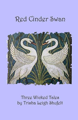Red Cinder Swan (Signed)