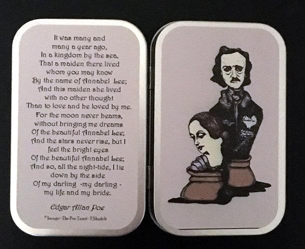 Edgar and Annabel Lee Mint Tin