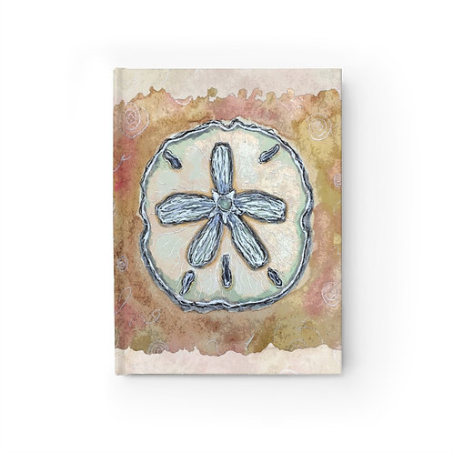 Sand dollar Shell Journal-Blank
