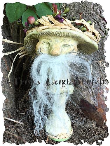 Toban Enchanted Mushroom of Faerie Sculpture