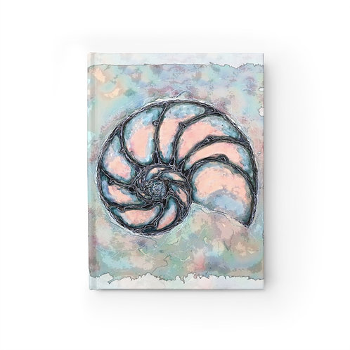 Nautilus Shell Journal-Blank
