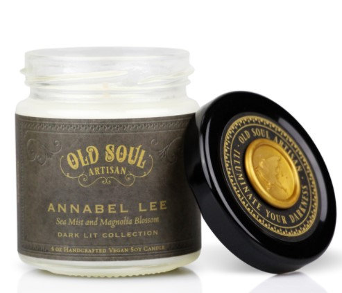 Annabel Lee Candle & Print
