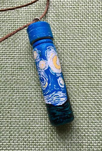 Van Gogh Starry Night Vial
